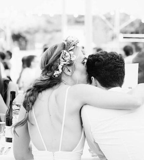 Tresse bohème mariage