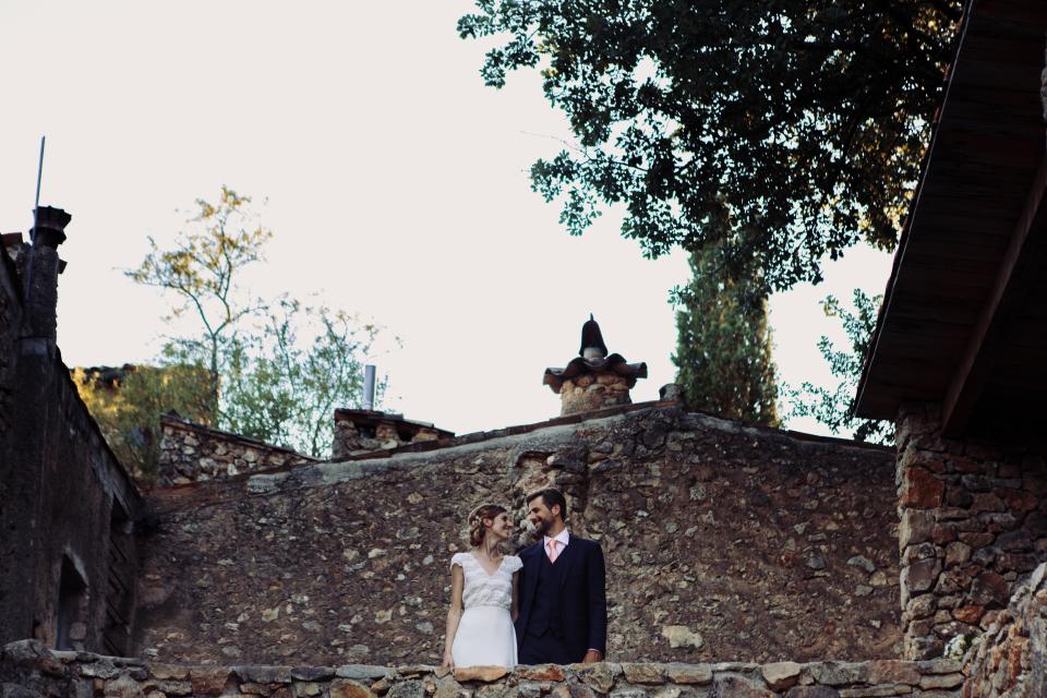 Coiffure mariage Marie & Seb