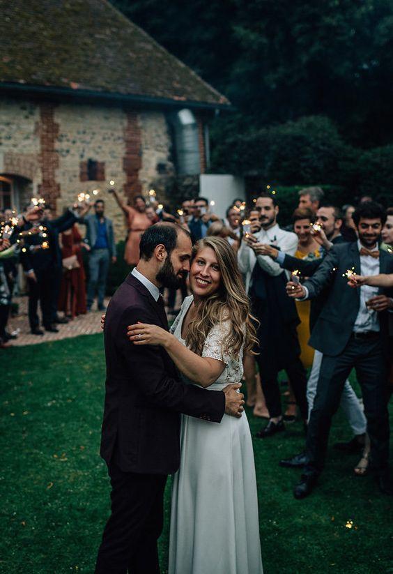 La mariage d'Elodie