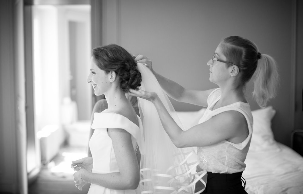 Mariage de Manon, coiffure et maquillage by The reporthair - 3