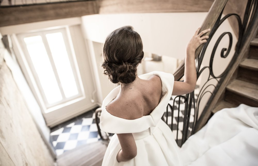 Mariage de Manon, coiffure et maquillage by The reporthair - 6