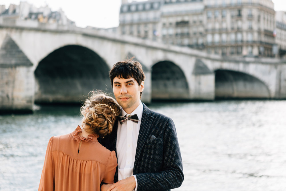 Mariage de Ekaterina, coiffure et maquillage by The reporthair