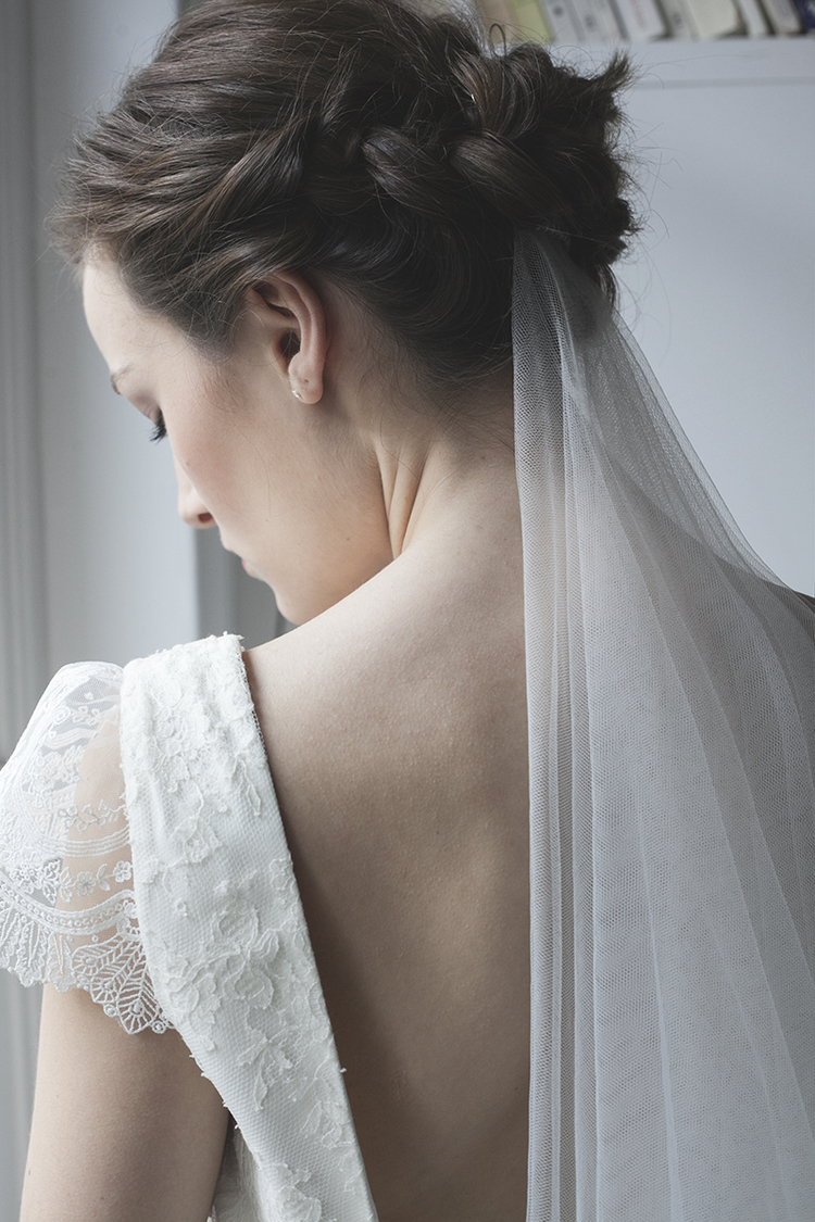 Inspiration mariage coiffure voile
