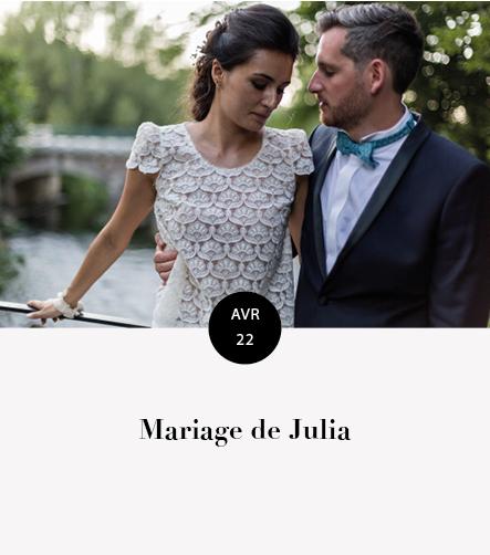 Mariage Julia