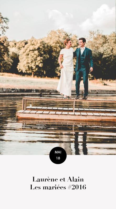 mariage laurene