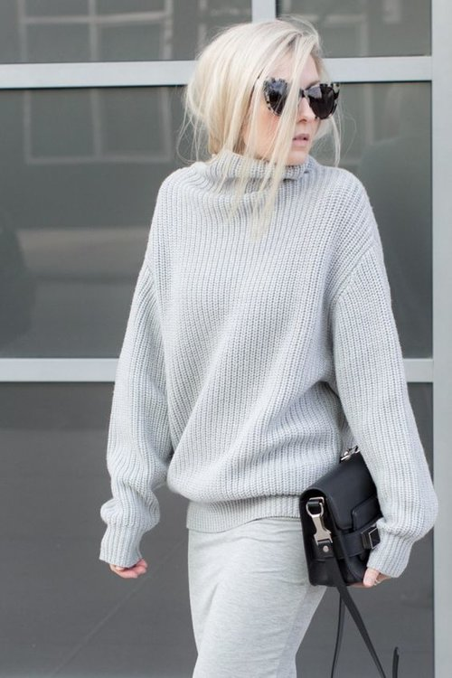 Nos 8 inspirations de blond polaire pour l'hiver