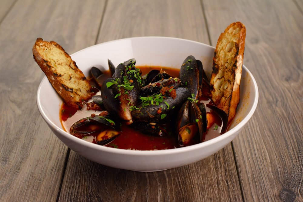 Mussels  Michelada