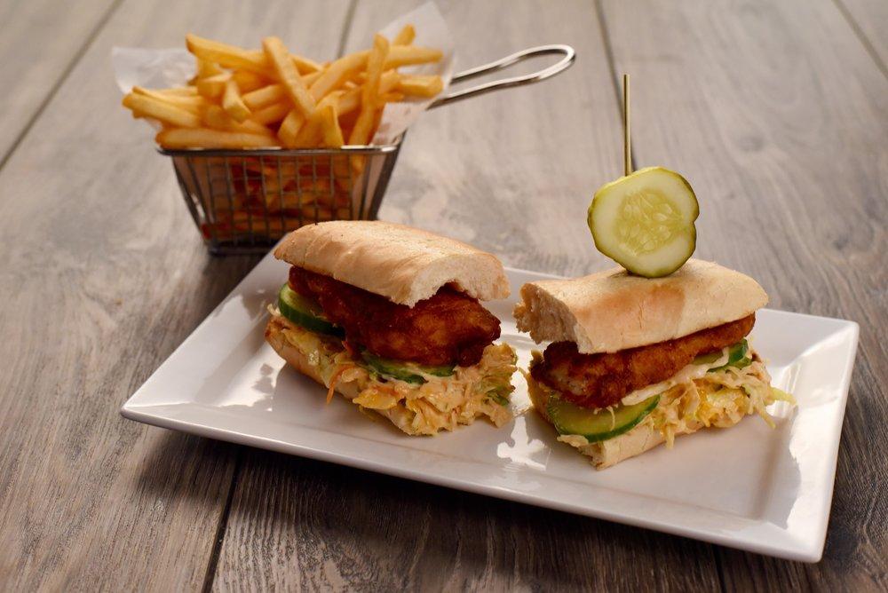 Fisher's Cod Sandwich