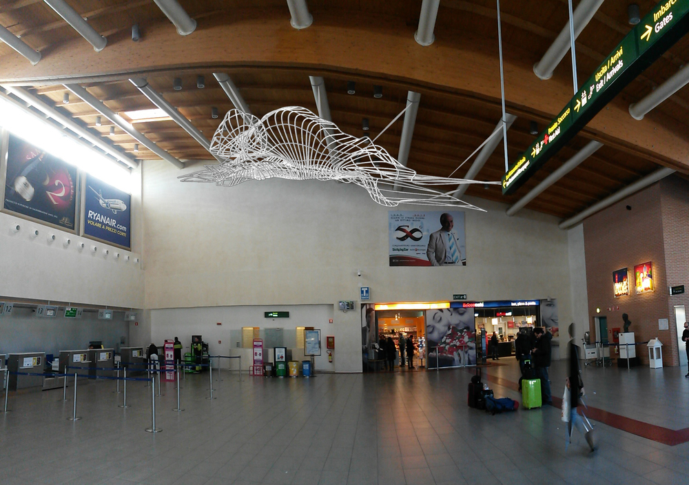 Treviso's Aerport Art Project (Concept), 2013, 20'