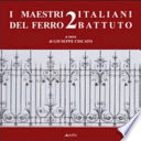 Book: Italian master of Wrought Iron