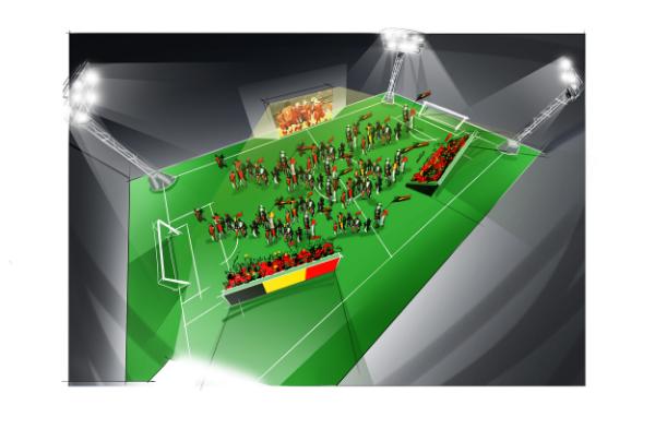Een sportieve promo stand of een tijdelijk voetbalveld op locatie? Met  kunstgras  is de klus zo geklaard!