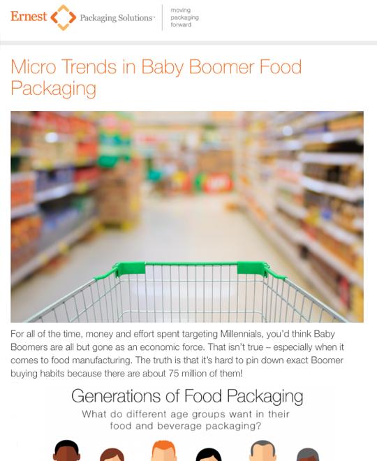Blog for Ernest Packaging Solutions