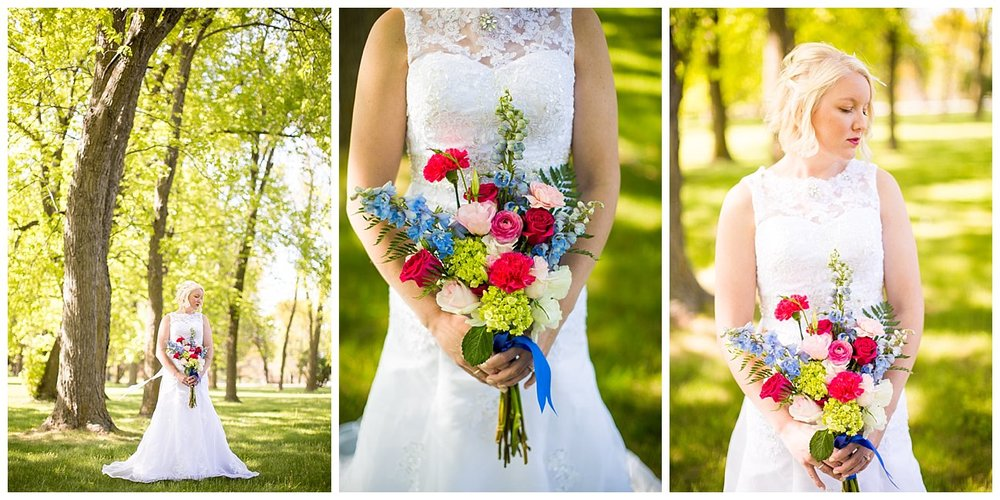 We had a second dress to go with our second bouquet. This one was my favorite of the flowers, everything about it just screamed beauty.
