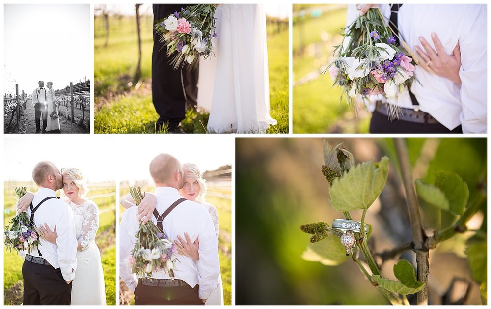 We made our way out to the vines, and though they weren't full and lush, it still made for some awesome shots.