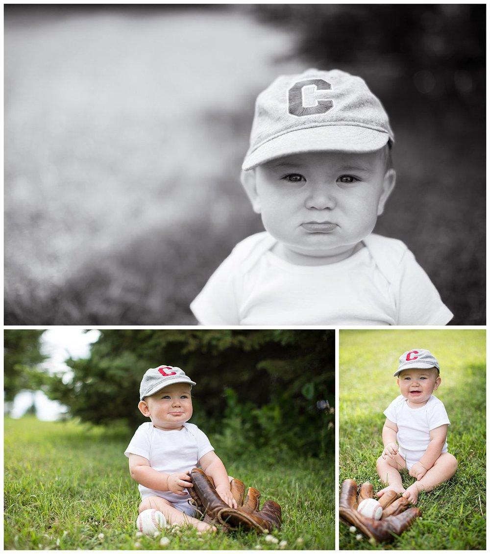 But the cutest little ball player!