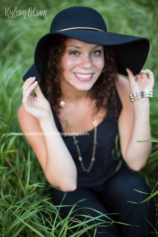Such a beauty! Seniors are one of my favorites now, and I have so much fun with them! And no selective color or tilted camera ;-) Aug. 2016