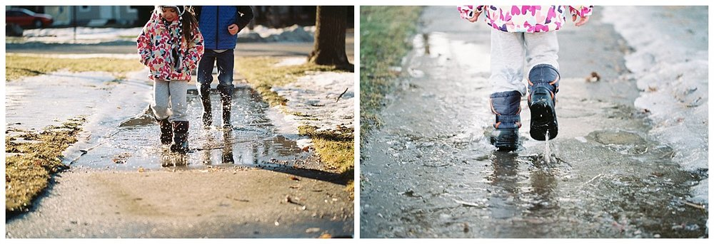 Who doesn't like walking in puddles?
