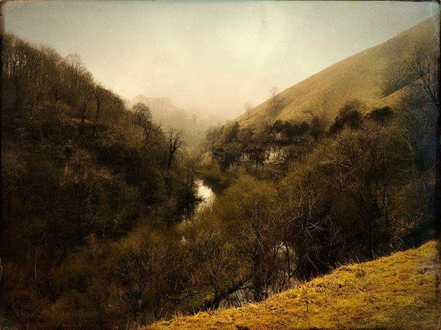 Peak District #hipstamatic #landscape #river #valley