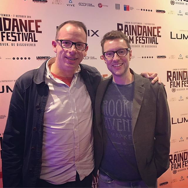 "A great pleasure to attend the UK premiere of ""The Ghost Of Peter Sellers"" last night. Fantastic reception from the @raindancefilmfestival audience and great to catch up with friends to see the results of all the hard work.  Plotting next moves with @jonathanblagrove @andrews.jessica @the_ghost_of_peter_sellers et al!  #indiefilm #raindance #film #featurefilm #dop #cinematography"