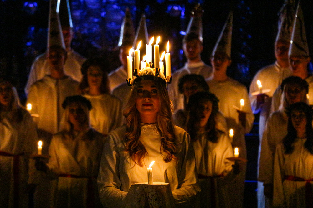 Lucia concert at Storkyrkan. Photo: Julie Cid