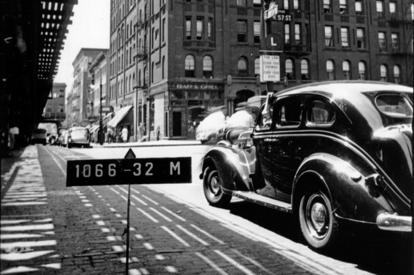 The Windermere in the 1940's under the El NEW YORK CITY MUNICIPAL ARCHIVES