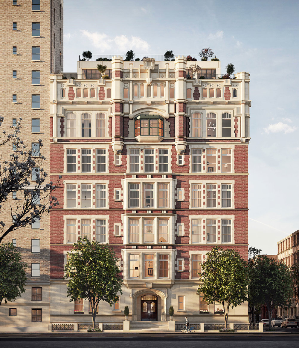 555 West End Avenue: Rendering by Tamarkin