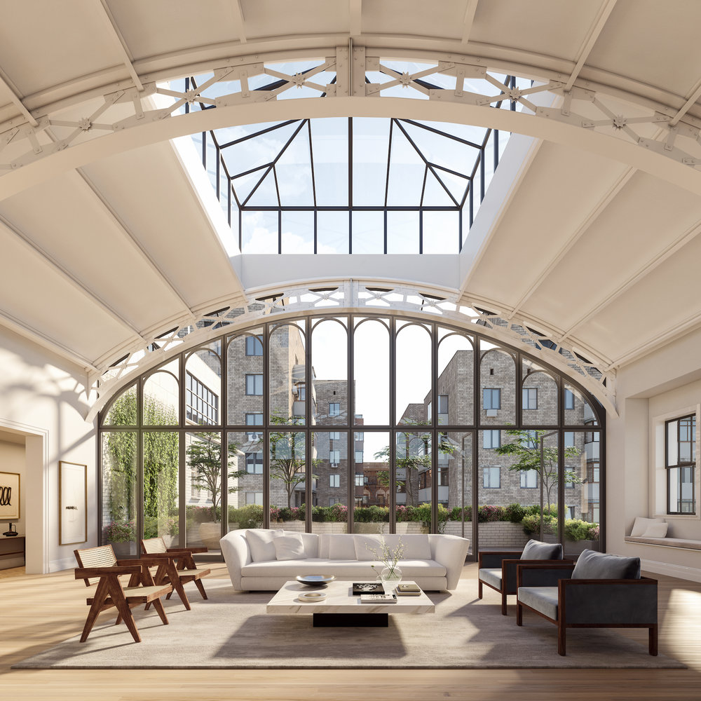 555 West End Avenue: Solarium Penthouse