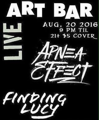 We're playing tomorrow at the art bar with our friends from Apnea Effect! Whose coming out?! Address is 1211 Park St. Columbia, SC