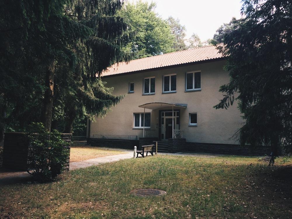 Erich och Margot Honechers hus, sommaren 2015.