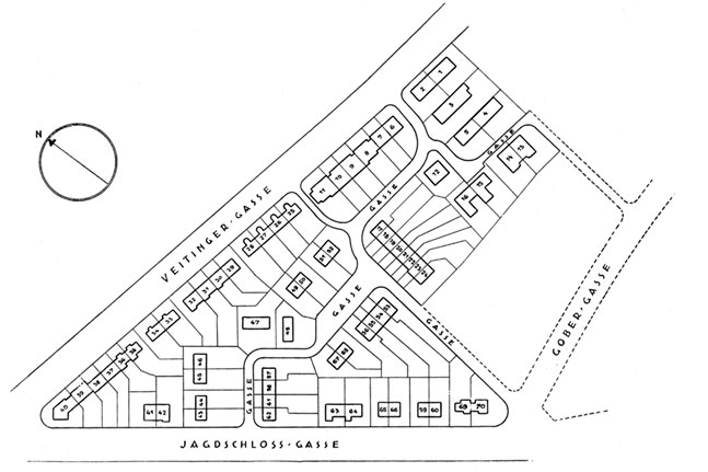 Karta över området, 1932.