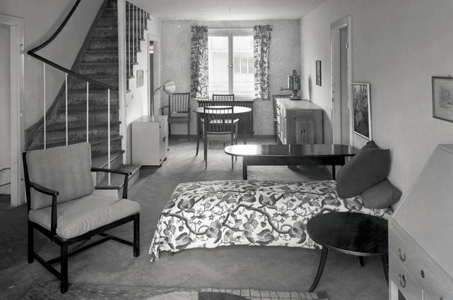 Interiör från Josef Franks villa, 1932.