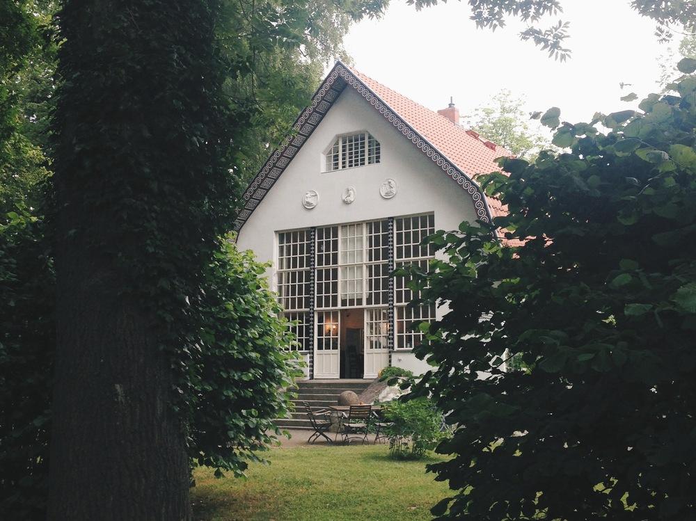 Brecht-Weigel-Haus, sommaren 2015.