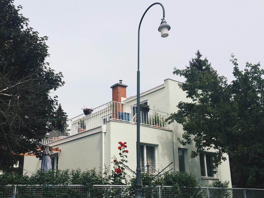 Josef Franks villa, sommaren 2015.