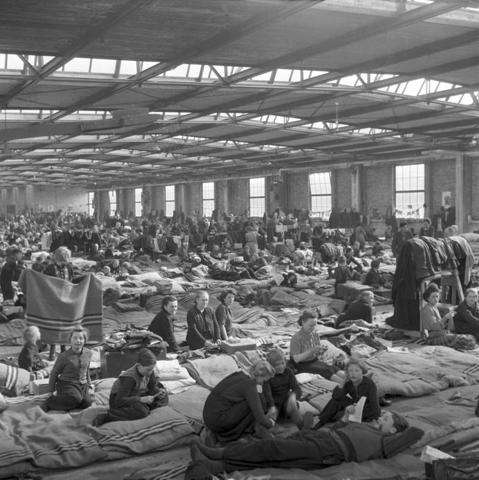 Östtyska flyktingar 1953.Foto: Zbarchiv/DPA/AFP.