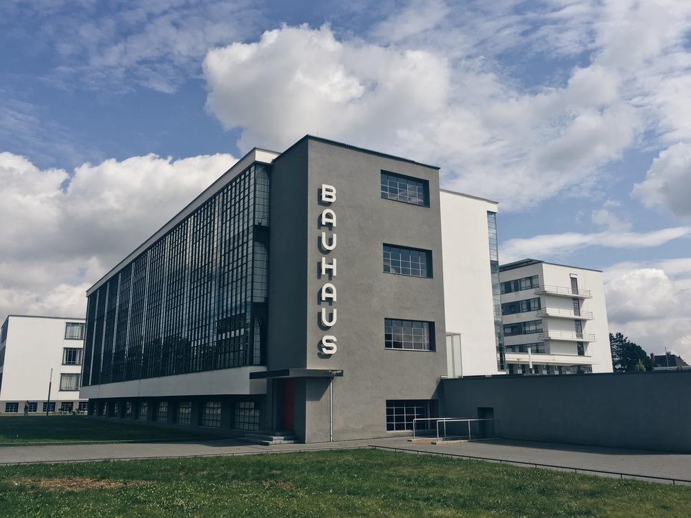 Bauhausskolan, sommaren 2016.