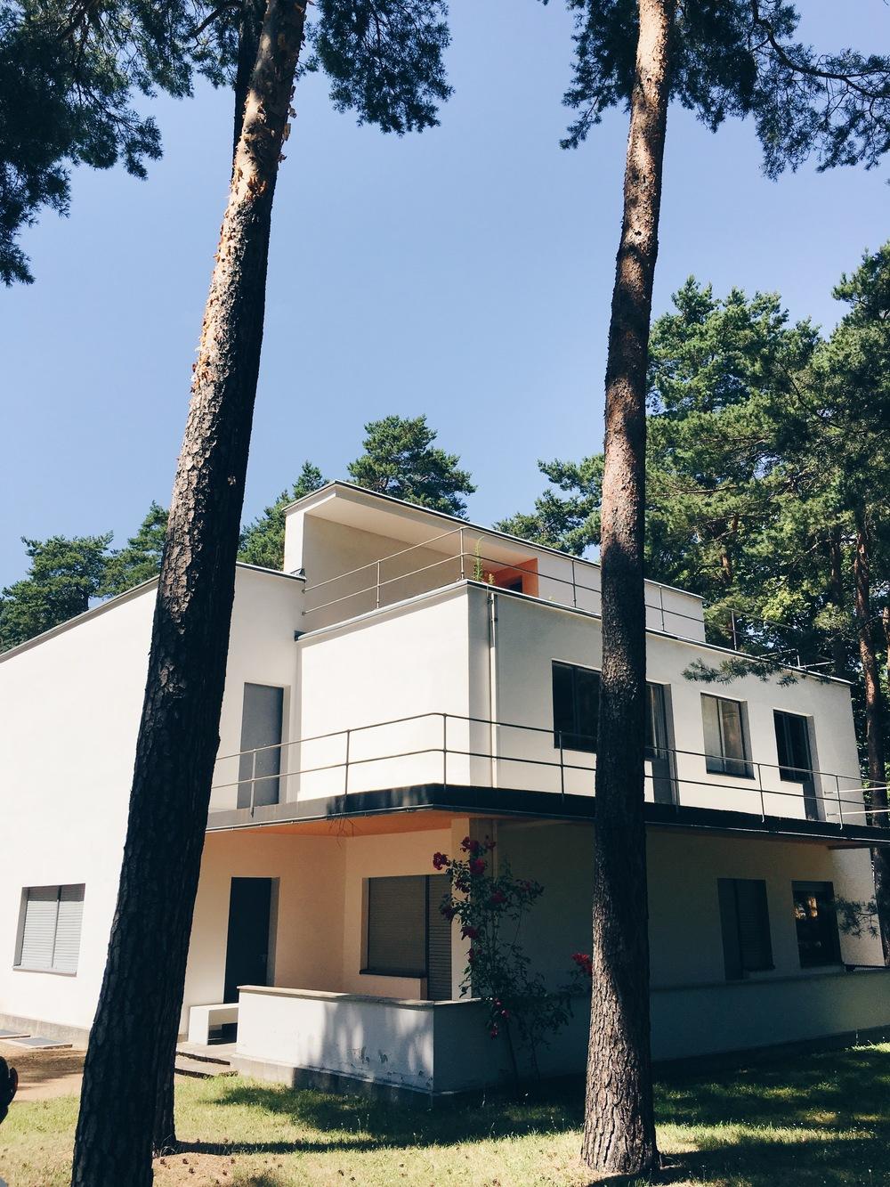 Meisterhaus, sommaren 2016.