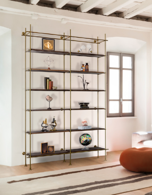 amuneal collector s shelving system 2 bay unit with shelves