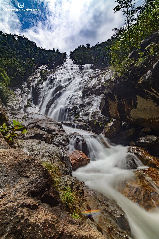 Chemerong Waterfall.Terengganu, Malaysia