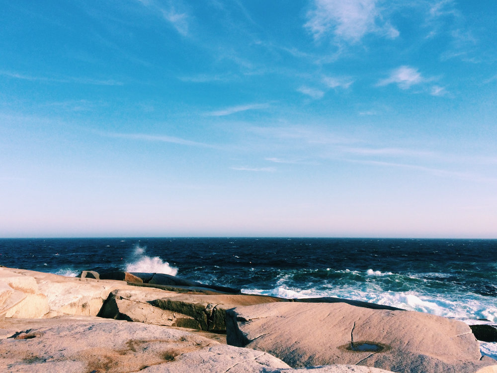shoutout my iPhone and Nova Scotia throwback tuesday