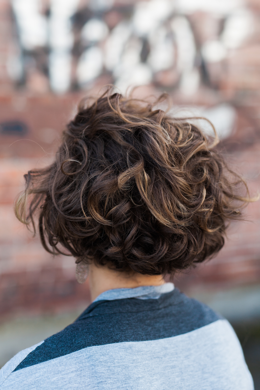 Curly Hair Half Up Tutorail