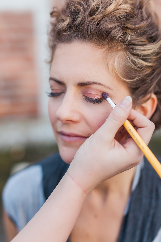 Simple Pink Makeup
