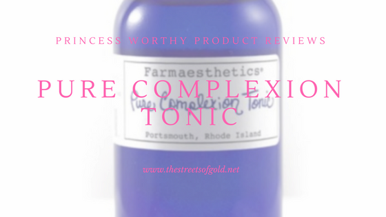 Farmaesthetics Pure Complexion Tonic Review