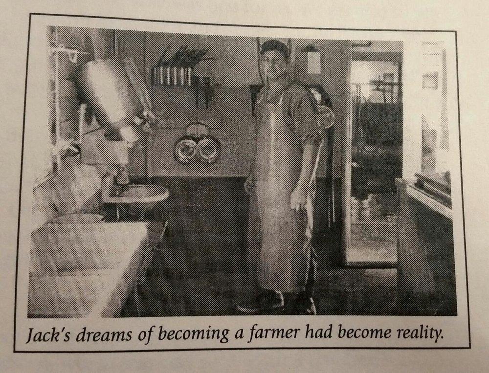 A makeup artist's farming heritage.
