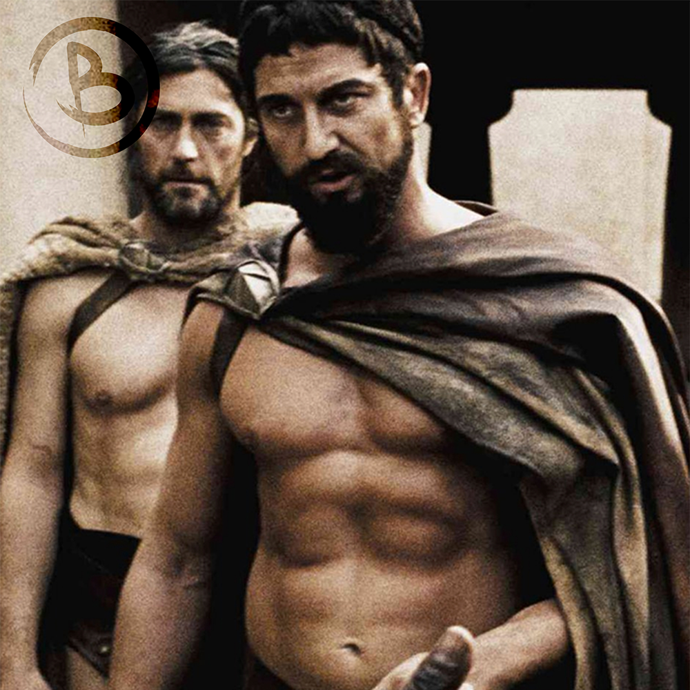 Photo: Gerard Butler 300 Movie