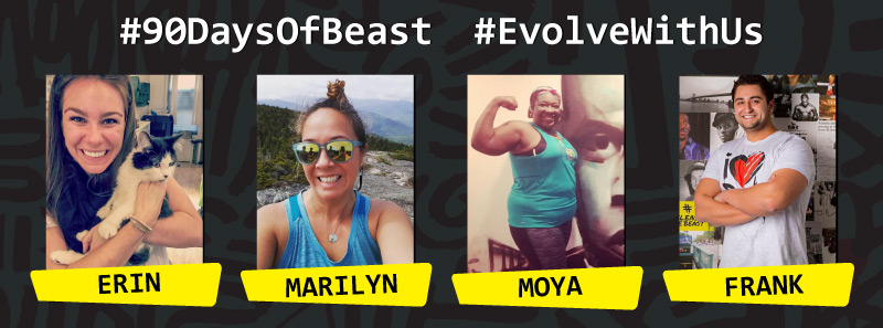 """Say """"Hello"""" to the 3 winners (and our CFO Frank) who will be working alongside each other while they    #EvolveWithUs"""