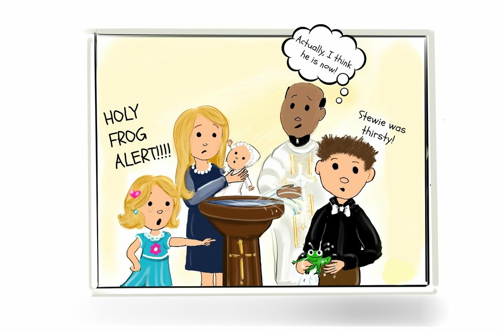This comic was inspired by the students of Saint Joseph - Catholic elementary school in Aurora Grades K-3