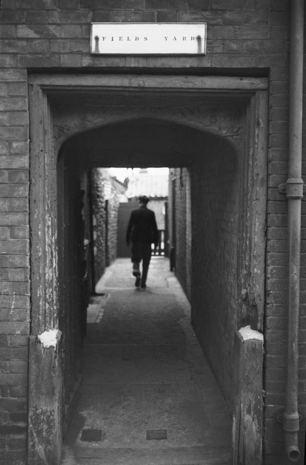 Field's Yard Tudor Archway 1935