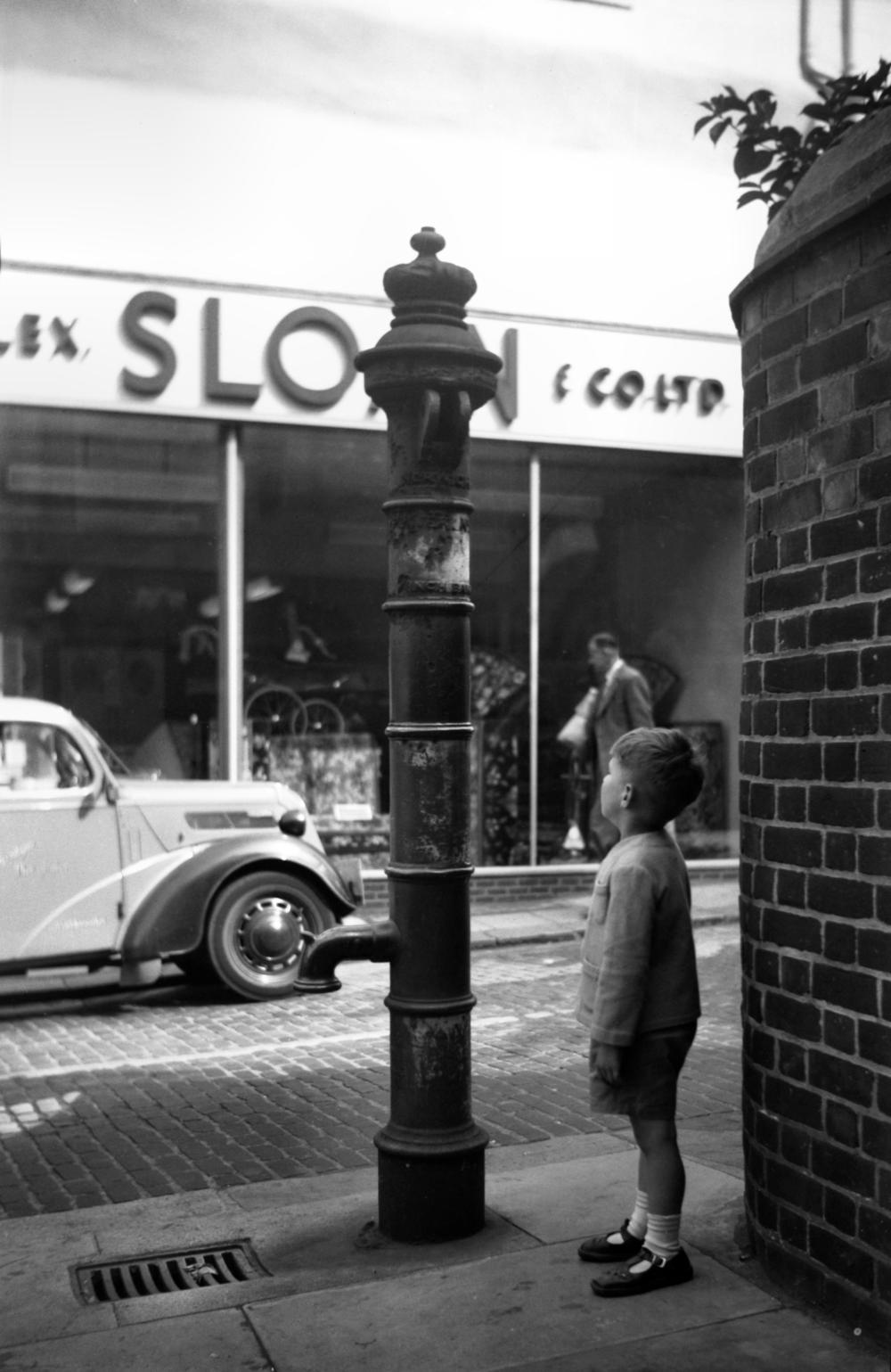 St John Maddermarket Shalders' pump 1955