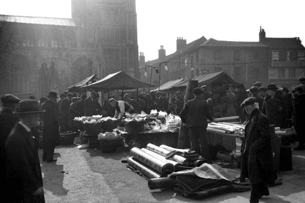 The Market View South 1938
