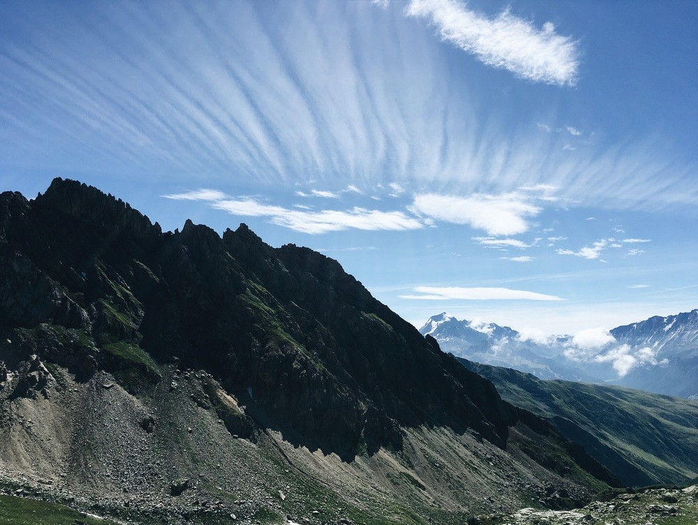 View from Col Du Bresson